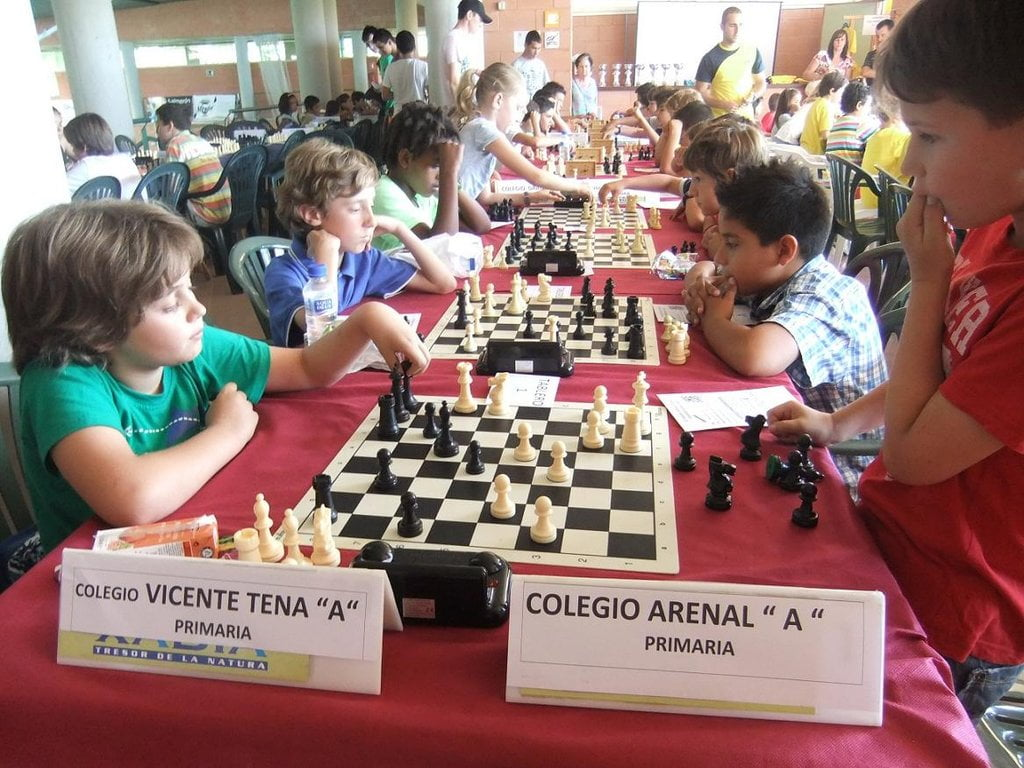 Niños ajedrez Xábia