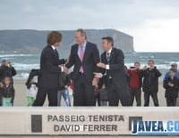 Inauguracin del nuevo Paseo del Tenista David Ferrer en Jvea 04