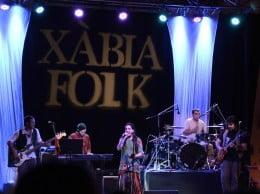 Actuacin de D&#039;Callaos en Xbia Folk 2013 02