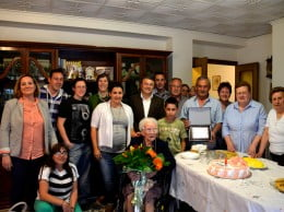 La javiense Francisca Costa celebra sus 100 aos