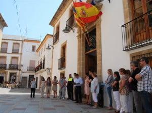 El Ayuntamiento de Jávea rinde homenaje a las vícitimas del accidente de Metro de Valencia en su décimo aniversario