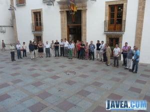 Minuto de silencio en memoria a las víctimas del accidente ferroviario de Santiago de Compostela