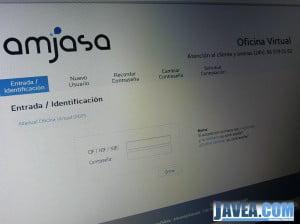 Nueva oficina de atención al cliente virtual de Amjasa