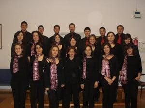 El grupo polifónico Ars Nova de Xàbia