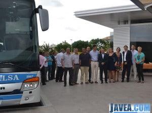 El alcalde de Jávea y miembros de la corporación