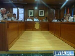 El ayuntamiento de Jávea celebra el último pleno del año