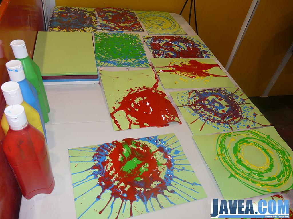 En el nadal jove hay talleres de pintura para los ni os y - Pintura infantil pared ...