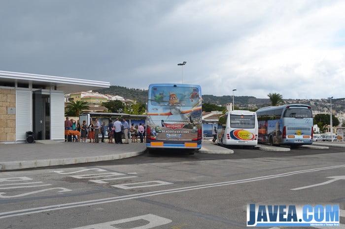 En septiembre se inauguraba la estación de autobuses de Jávea