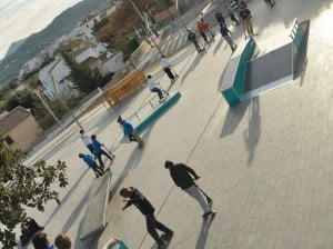 El Skatepark de la plaza del Portal del Clot será inaugurado esta tarde