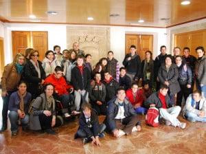 Un grupo de alumnos del Colegio Público Raquel Payà de Dénia ha visitado Jávea