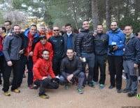 Club de participantes en la Granadella Trail 2014 Jávea