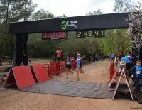 Cruce de meta de la Granadella Trail Jávea