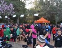 El parque de Pinosol acogió la salida de la Granadella Trail