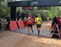 La meta final estaba en el Parque de Pinosol de Jávea