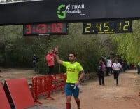 Llegada a la meta de la Granadella Trail de Xàbia
