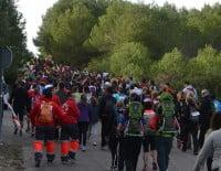 Los caminantes salieron de Pinosol sobre las nueve de la mañana