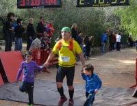 Los más pequeños participaron en el momento más emocionante de la carrera