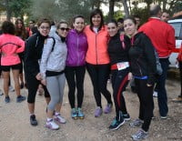 Participante del Granadella Trail antes de la salida