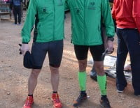 Participantes de Dénia en la carrera Granadella Trail Jávea 2014