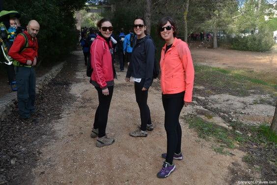 Participantes de la Granadella Trail 2014 Xàbia