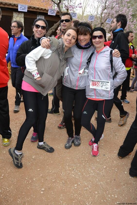 Participantes de la Granadella Trail Jávea 2014