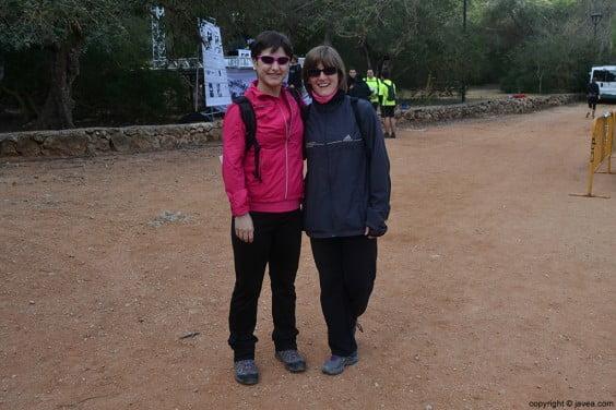 Participantes de la Granadella Trail Xàbia 2014