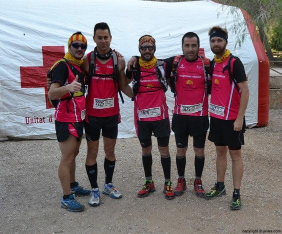 Participantes de la Granadella Trail del Club de Atletismo Bernia