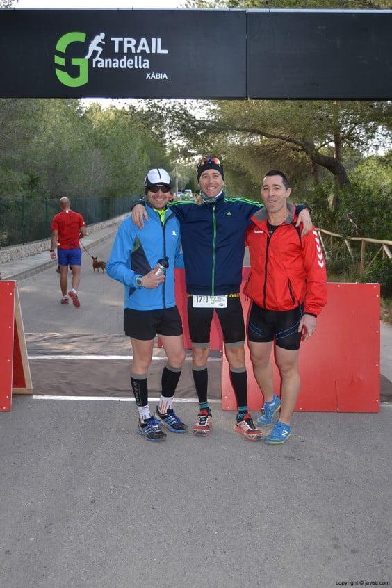 Participantes de la carrera Granadella Trail de Jávea