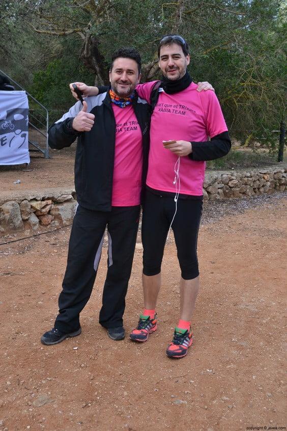Participantes de la carrera de montaña Granadella Trail Jávea