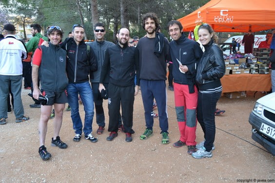 Participantes en la carrera Granadella Trail Jávea 2014