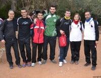 Participantes en la carrera de montaña Granadella Trail Jávea