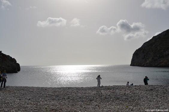 Playa de la Granadella de Jávea