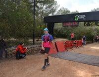 Punto de llegada en el Parque Pinosol de Xàbia