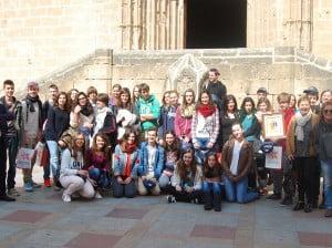 Jávea recibe la visita de 15 estudiantes alemanes por un intercambio de idiomas del IES Antoni Llidó