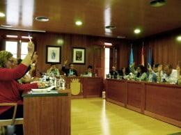 Sesión plenaria del mes de mayo en el Ayuntamiento de Jávea