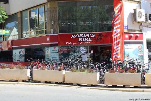Tienda-Xabia's-Bike