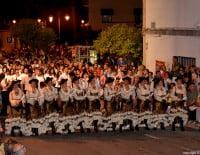 Escuadra femenina Filà Capitana Contrabandistes