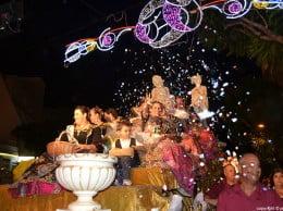Cabalgata de carrozas de las fiestas Mare de Déu de Loreto de Jávea