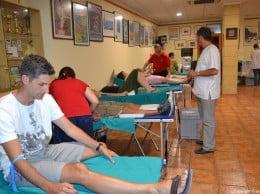 El casal fester ha acogido el II Maratón de donación de sangre Dionís Henarejos