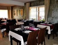 Interior del salón del Restaurante Nesfor en Jávea