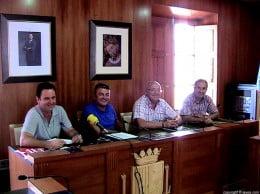 Juanjo García, José Chulvi, Juan Ortolá y José Erades