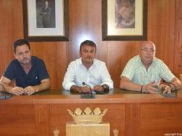 Juanjo García, José Chulvi y Juan Ortolá