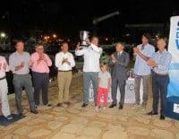 Mateo Castellá presidió la entrega de trofeos de la XXXI Semana de la Vela de Jávea