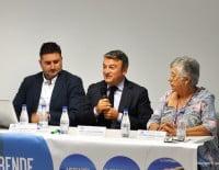 El alcalde de Xàbia José Chulvi en la apertura del evento