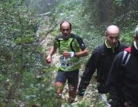 Ignacio Cardona en una carrera del Km. Vertical