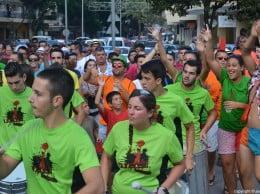 La Batukada Bunpada puso el ritmo al desfile de peñas
