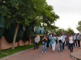 Visita a la desaladora delegacion brasileña