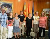 Firma de los convenios sociales con AMADEM, ACOMAD y ADIMA