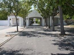Entrada Cementerio de Jávea
