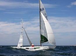 Rafael Andarias navegando